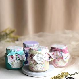 Pastel candle ของชำร่วย ของชำร่วยงานเเต่งงาน ของพรีเมียม