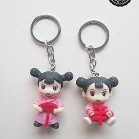 พวงกุญแจตุ๊กตาเด็กจีน ของชำร่วย ของชำร่วยงานเเต่งงาน
