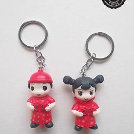 พวงกุญแจเด็กชาย-หญิงจีน ของชำร่วย ของชำร่วยงานเเต่งงาน