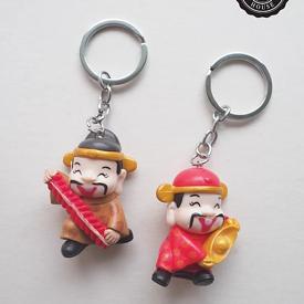 พวงกุญแจตุ๊กตาจีน ของชำร่วย ของชำร่วยงานเเต่งงาน
