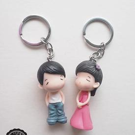 พวงกูญแจตุ๊กตา ของชำร่วย ของชำร่วยงานเเต่งงาน