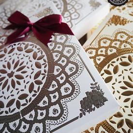 กล่องใส่ของผ้าแพรแบบจตุรัส ของชำร่วย ของชำร่วยงานเเต่งงาน ของพรีเมียม