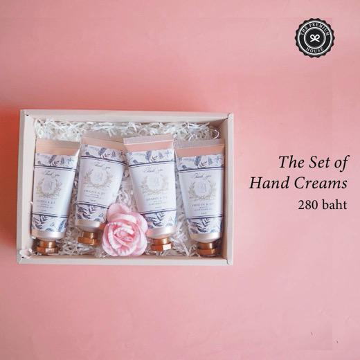 The Set of Hand Crams ของรับไหว้ ของพรีเมี่ยม ของชำร่วย