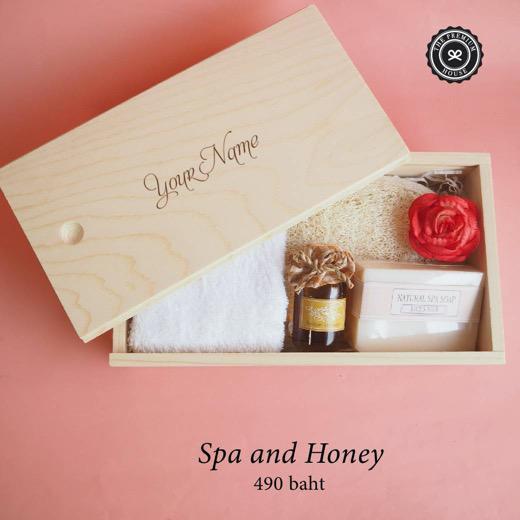 Spa and Honey ของรับไหว้ ของพรีเมี่ยม ของชำร่วย