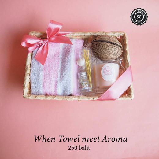 When Towel Me Meet Aroma ของรับไหว้ ของพรีเมี่ยม ของชำร่วย