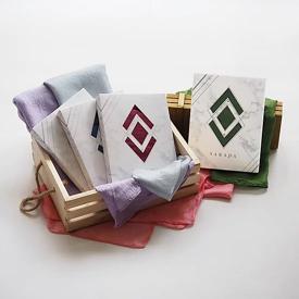 ผ้าพันคอ ผ้าไหมมุก ของรับไหว้ ของพรีเมี่ยม ของชำร่วย