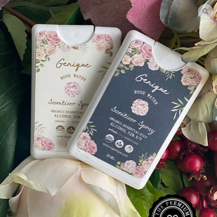 สเปรย์แอลกอฮอล์ 20 ML กลิ่น Rose Water ของชำร่วย ของชำร่วยงานเเต่งงาน ของพรีเมียม