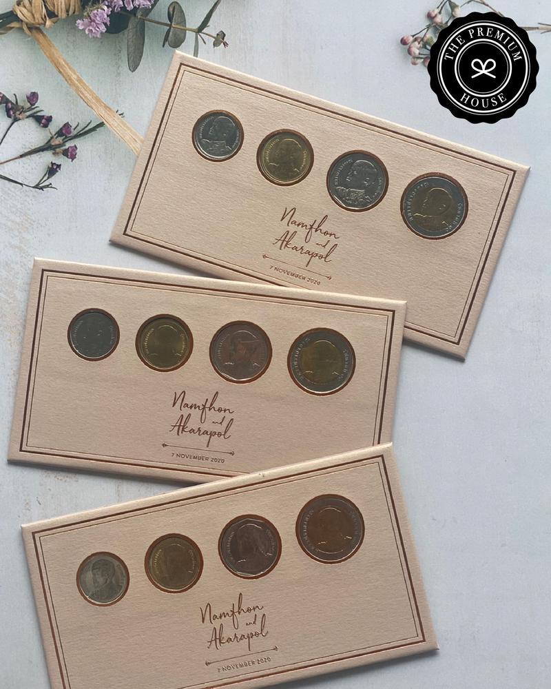 ที่ใส่เหรียญ ของชำร่วย ของชำร่วยงานเเต่งงาน ของพรีเมียม