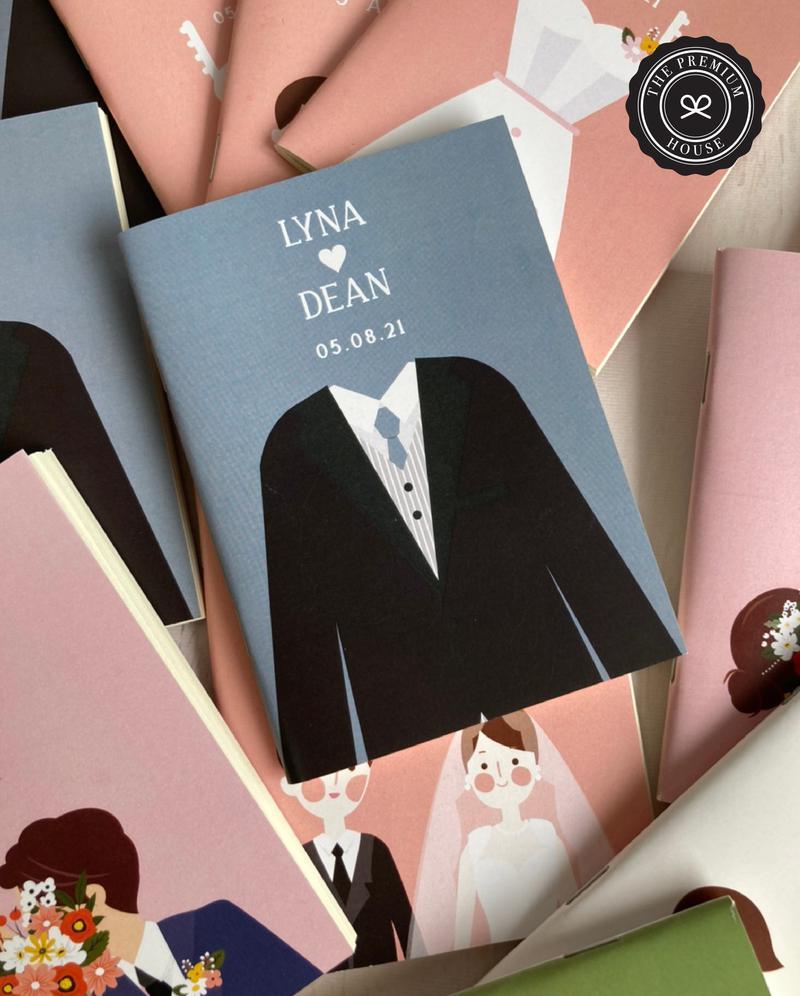 ของชำร่วย สมุดโน๊ตถนอมสายตา Collection Sweet Wedding_4