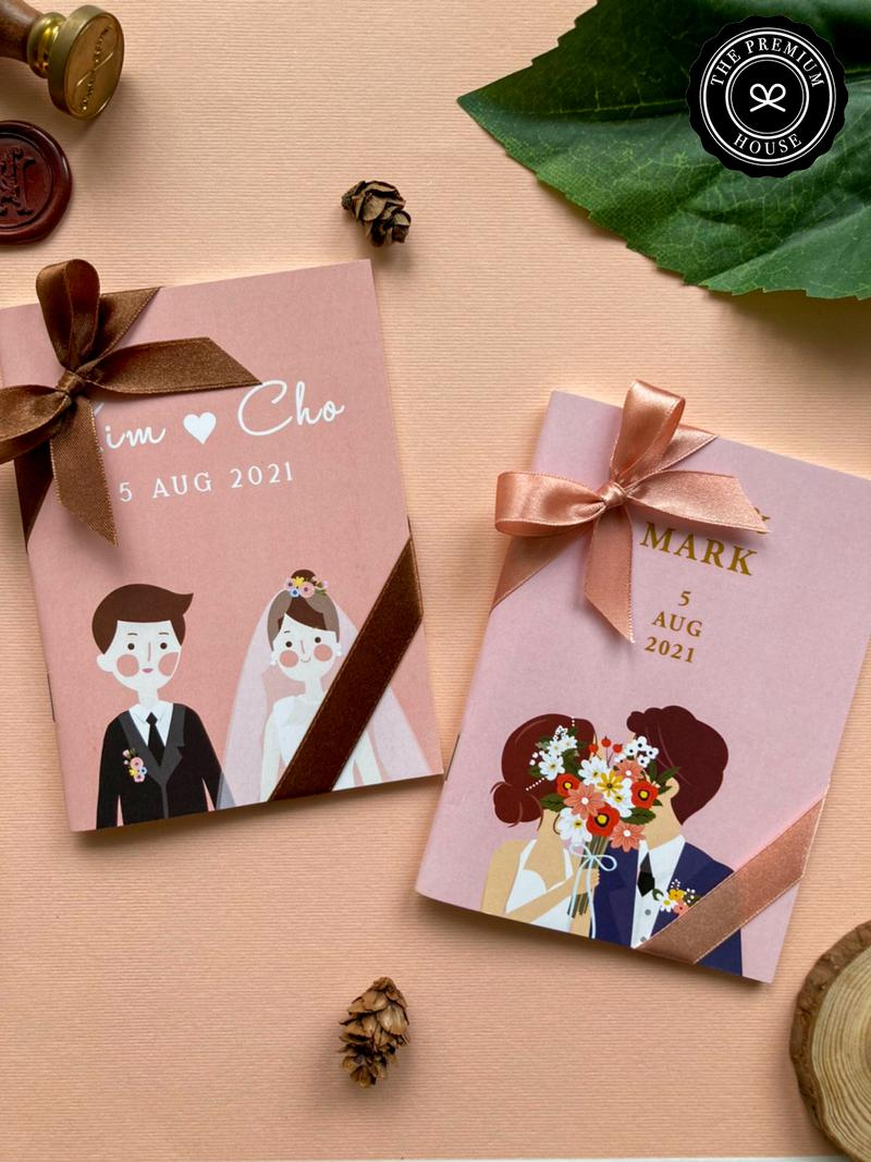 ของชำร่วย สมุดโน๊ตถนอมสายตา Collection Sweet Wedding_2