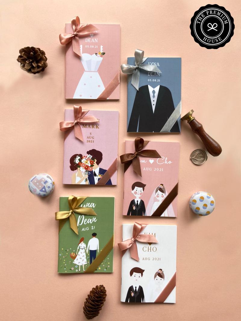 ของชำร่วย สมุดโน๊ตถนอมสายตา Collection Sweet Wedding_1